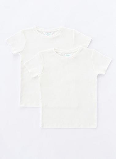 Penti Beyaz Unisex Basic Termal 2Li Tişört Beyaz